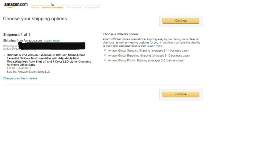 Amazon_shipping options